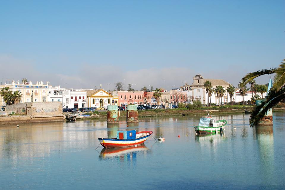 R o guadalete al paso por el puerto de santa mar a c diz espa a - Tren el puerto de santa maria madrid ...